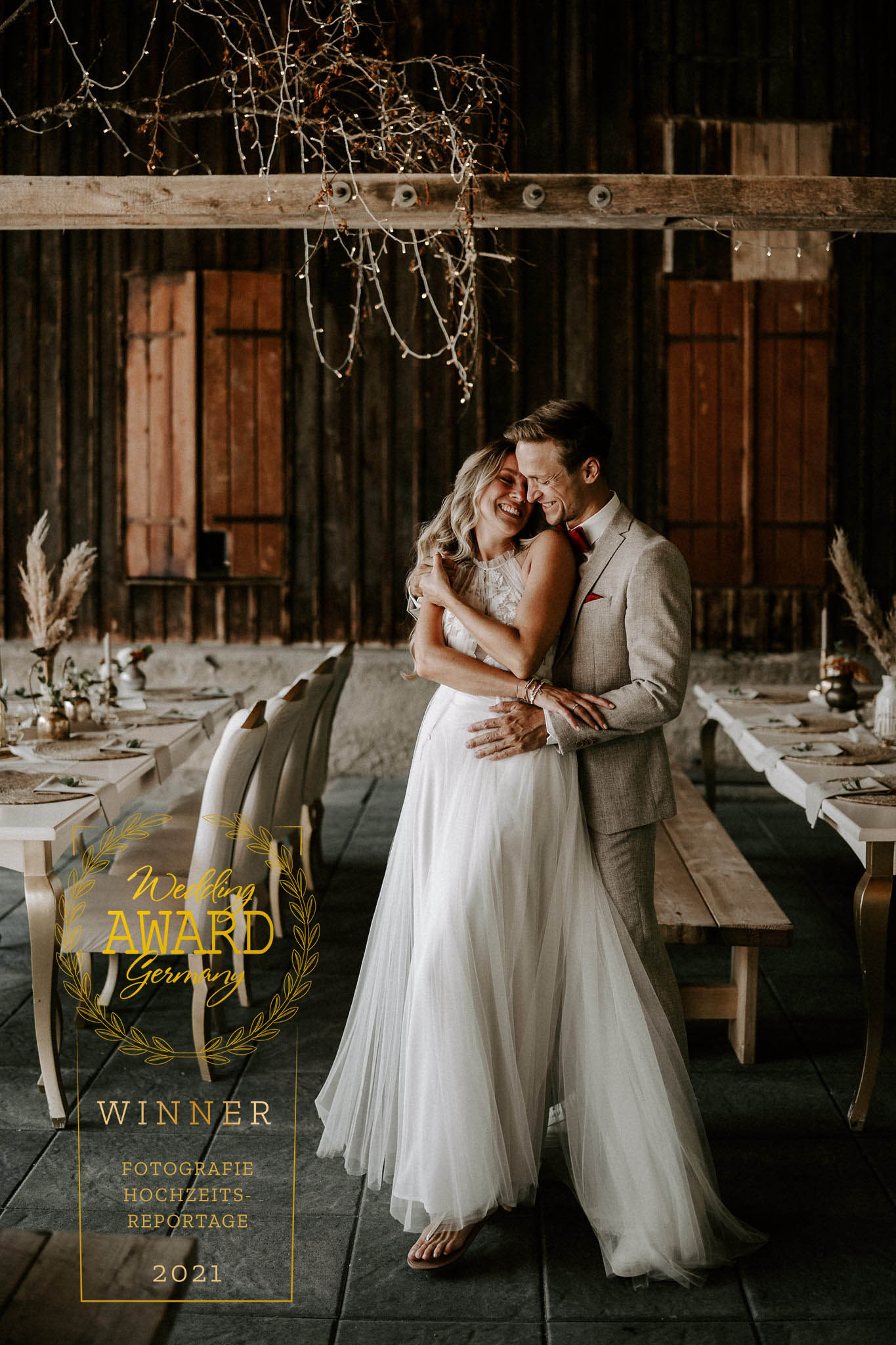 Winner Foto Hochzeitsreportage